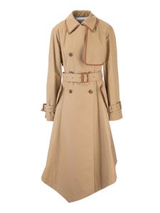 Loewe - Trench in cotone beige