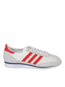 Adidas Originals - SI 72 sneakers in white grey and red