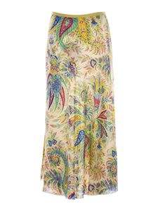 Etro - Paisley printed skirt in multicolor