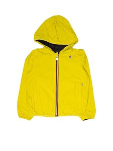 K-Way - Jacques Plus Double jacket in yellow and blue
