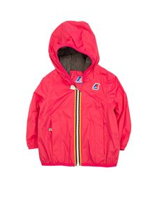 K-Way - Lily Poly Jersey jacket in fuchsia