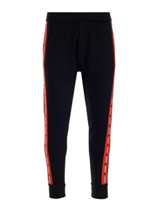 Dsquared2 - Contrasting bands joggers in black