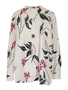 Marni - Floral blouse in white
