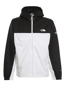 The North Face - Giacca Black Box Mountain Q bianca