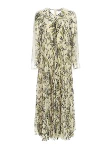 Red Valentino - Crepe floral dress in ivory color