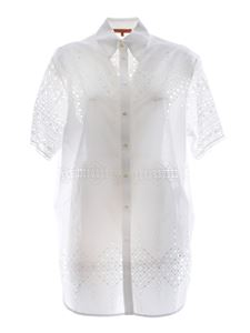Ermanno Scervino - Broderie anglaise shirt in white