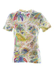Etro - Multicolor Paisley T-shirt in white