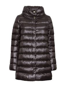 Herno - Amelia quilted down jacket in brown