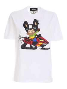 Dsquared2 - Icon Dog T-shirt in white