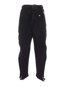 Dsquared2 - Quilted inserts pants in black