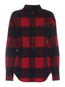 Dsquared2 - Icon checked shirt in red and black