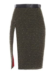 Dsquared2 - Boucle skirt in army green