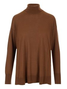S Max Mara - Libia turtleneck in brown