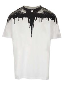 Marcelo Burlon County Of Milan - Tar Wings T-shirt in white and black