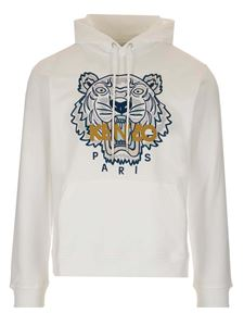 Kenzo - Tiger hoodie in white