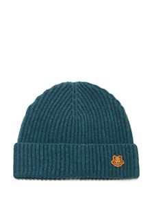 Kenzo - Tiger Crest beanie in petrol color