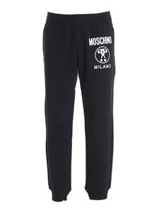 Moschino - Logo tracksuit pants in black