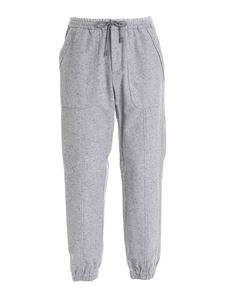 Z Zegna - Cotton blend joggers in grey