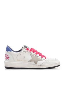 Golden Goose - Ballstar sneakers in white and multicolor