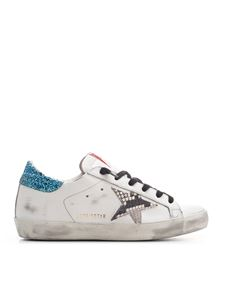 Golden Goose - Superstar sneakers in white and multicolor