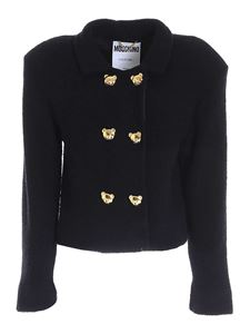 Moschino - Teddy Buttons jacket in black