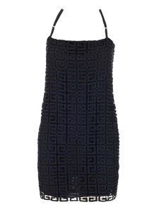 Givenchy - Guipure 4G Mini dress in black