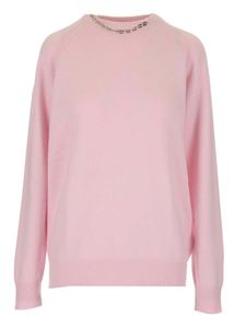 Givenchy - Chain embellishment sweater in pink