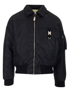 Alyx - Technical fabric bomber jacket in black