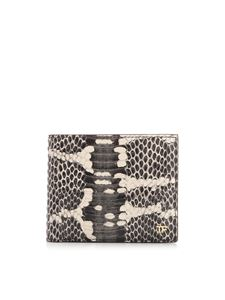 Tom Ford - T Line Classic animal print wallet