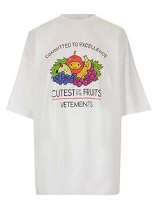 Vetements - Cutest Of The Fruit T-shirt in white