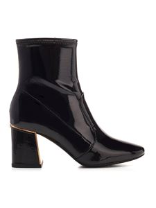 Tory Burch - Gigi leather ankle boots in black