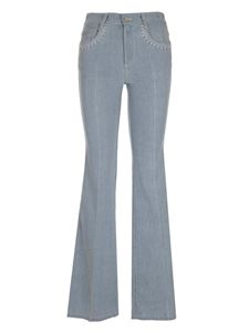Chloé - Flared jeans in light blue