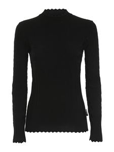 Love Moschino - Knitted turtleneck in black
