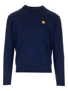 Kenzo - Tiger Crest sweater in blue