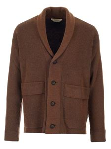 Z Zegna - Recycled wool cardigan in brown