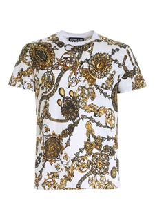 Versace Jeans Couture - Regalia Baroque print T-shirt in white