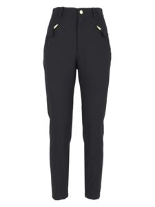 Moschino Boutique - Side zipped pockets pants in black