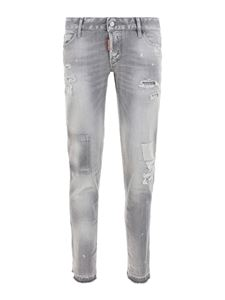 Dsquared2 - Faded denim jeans in gray