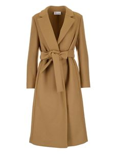 Red Valentino - Cloth coat in camel color