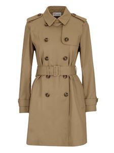 Red Valentino - Pleated insert trench coat in beige