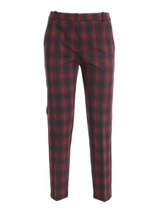 Pinko - Bello 109 pants in black, grey and red