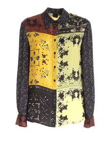 Pinko - Guelph shirt in yellow black and brown