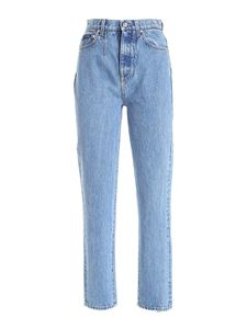 Dolce & Gabbana - Mom fit jeans in light blue