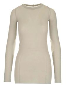 Rick Owens - Long-sleeved T-shirt in white
