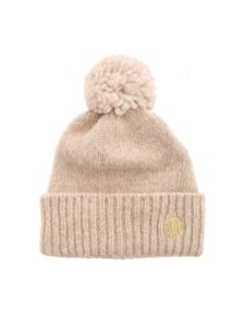 Golden Goose - Didi beanie in sand color