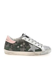 Golden Goose - Super-Star sneakers in shades of green