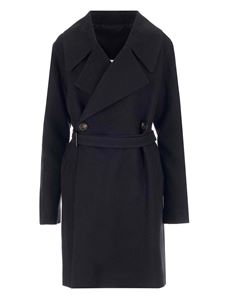 Rick Owens - Performa trench coat in black