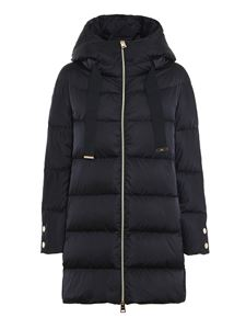 Herno - Blue down jacket in blue
