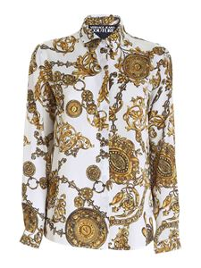 Versace Jeans Couture - Regalia Baroque print shirt in white