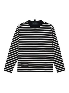 Marc Jacobs  - Striped sweatshirt in black and white